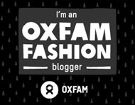 Oxfam Fashion blogger