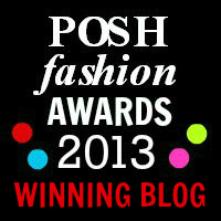 POSH Fashion Awards 2013 Winning Blog