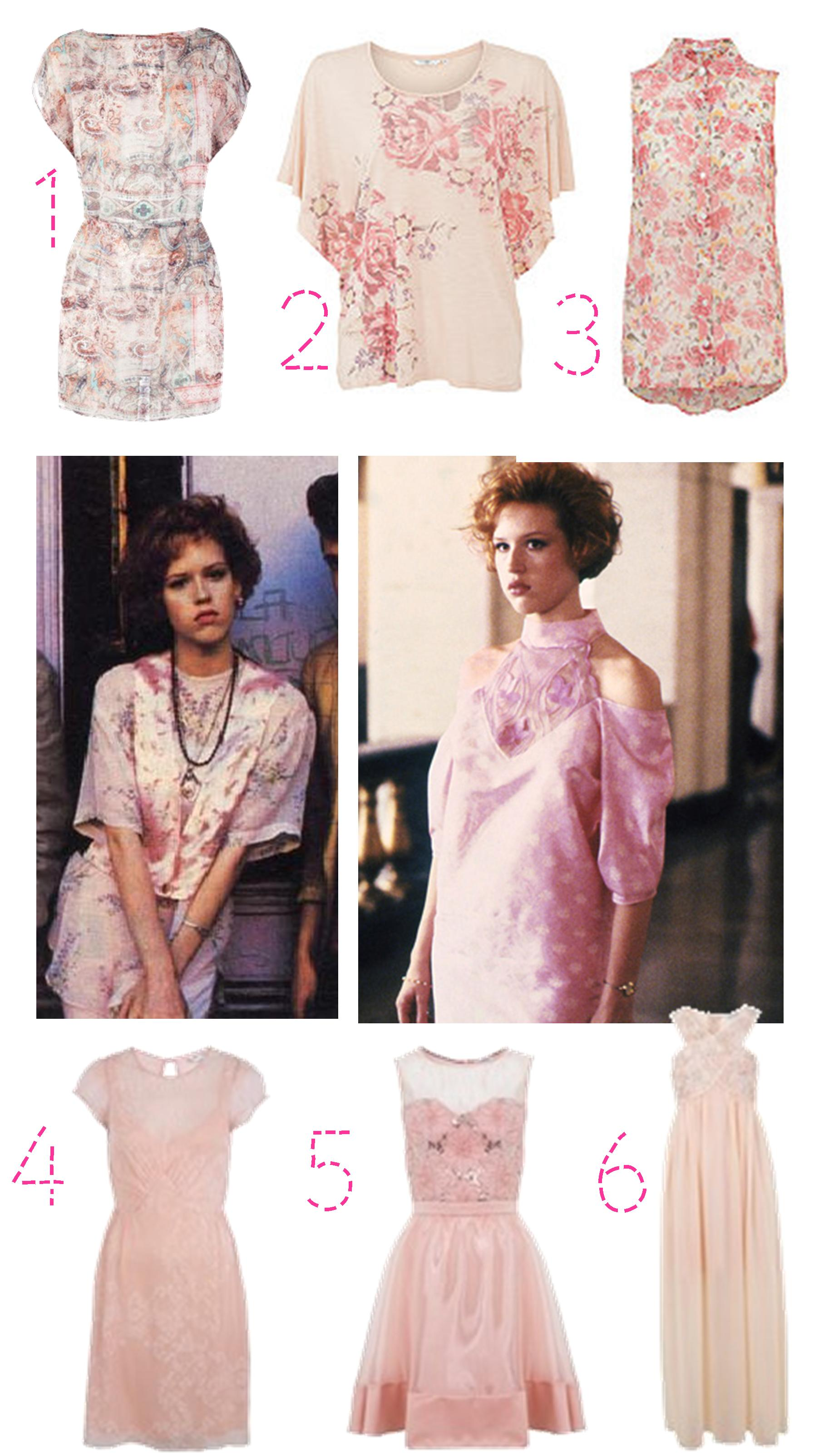 Pretty In Pink Get The 80s Granny Chic Look Cassiefairy 39 S Thrifty Lifestyle Blog