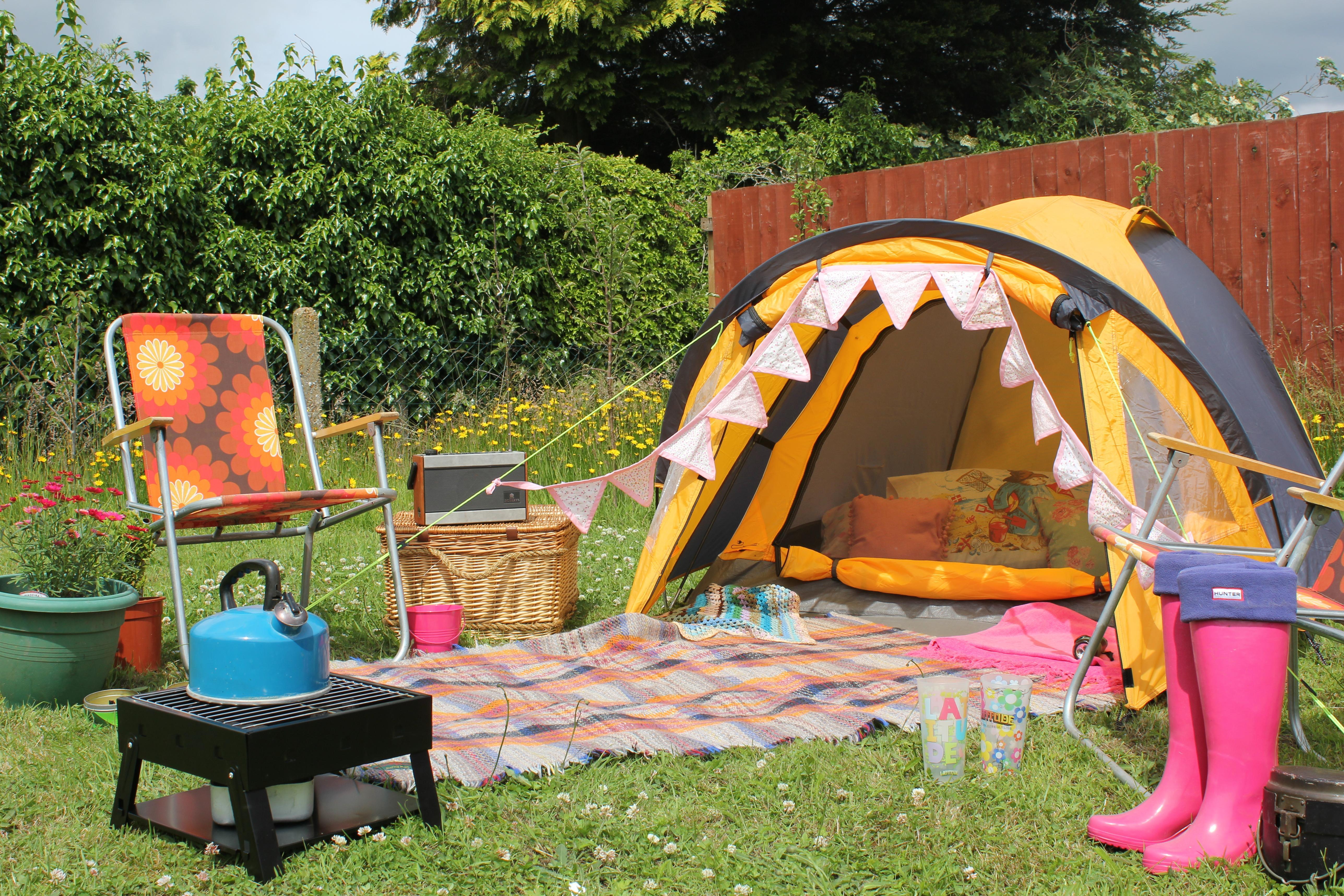 Big Night In Festival At Home Glastonbury Latitude Camping
