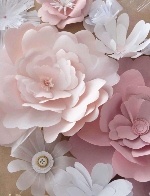 Homemade Paper Flowers Amp How To Display Them