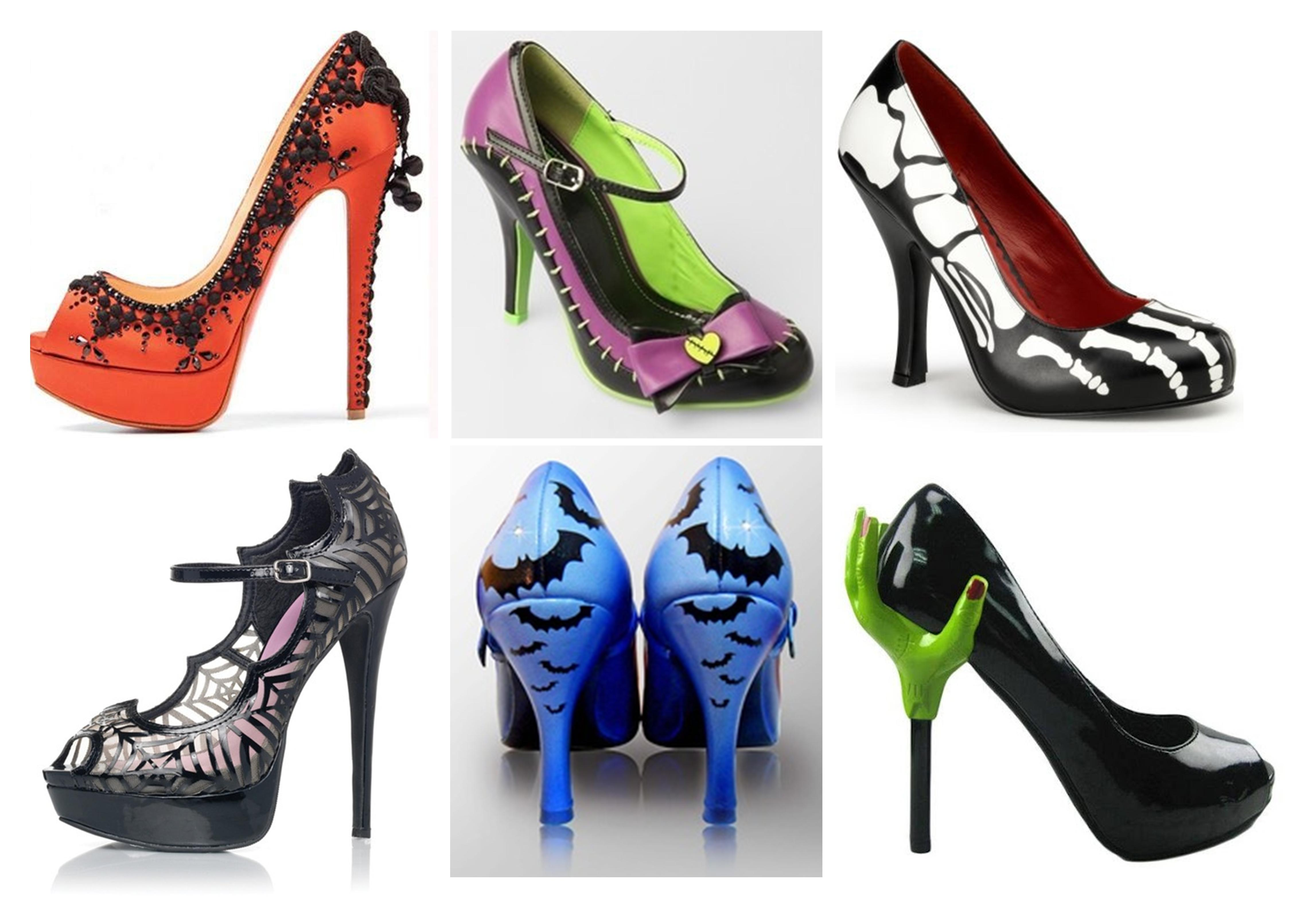Tuesday Shoesday ~ Scary shoes