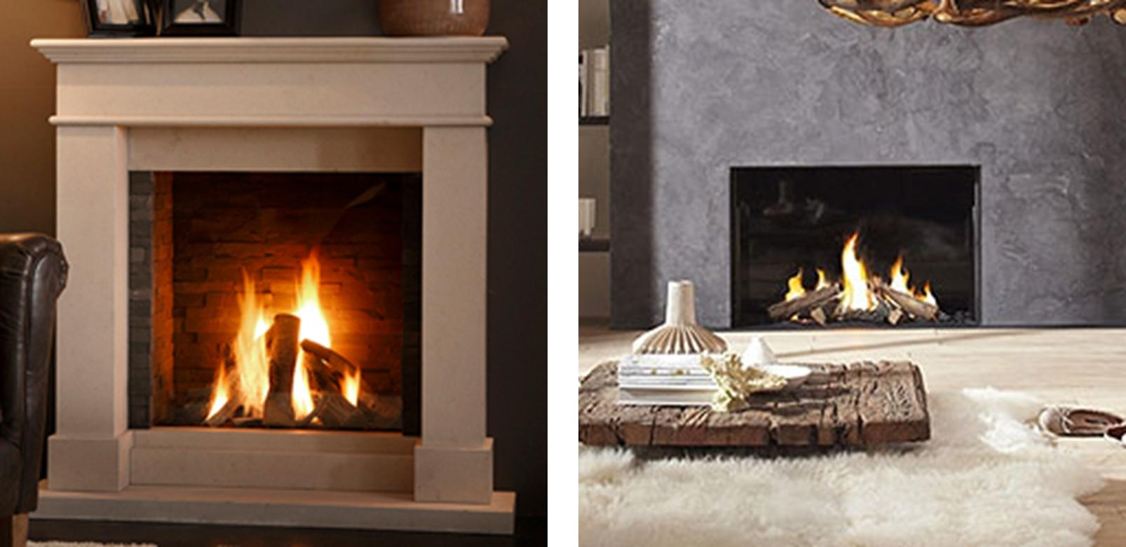 Dream a little dream light my fire for Gas modern fireplace