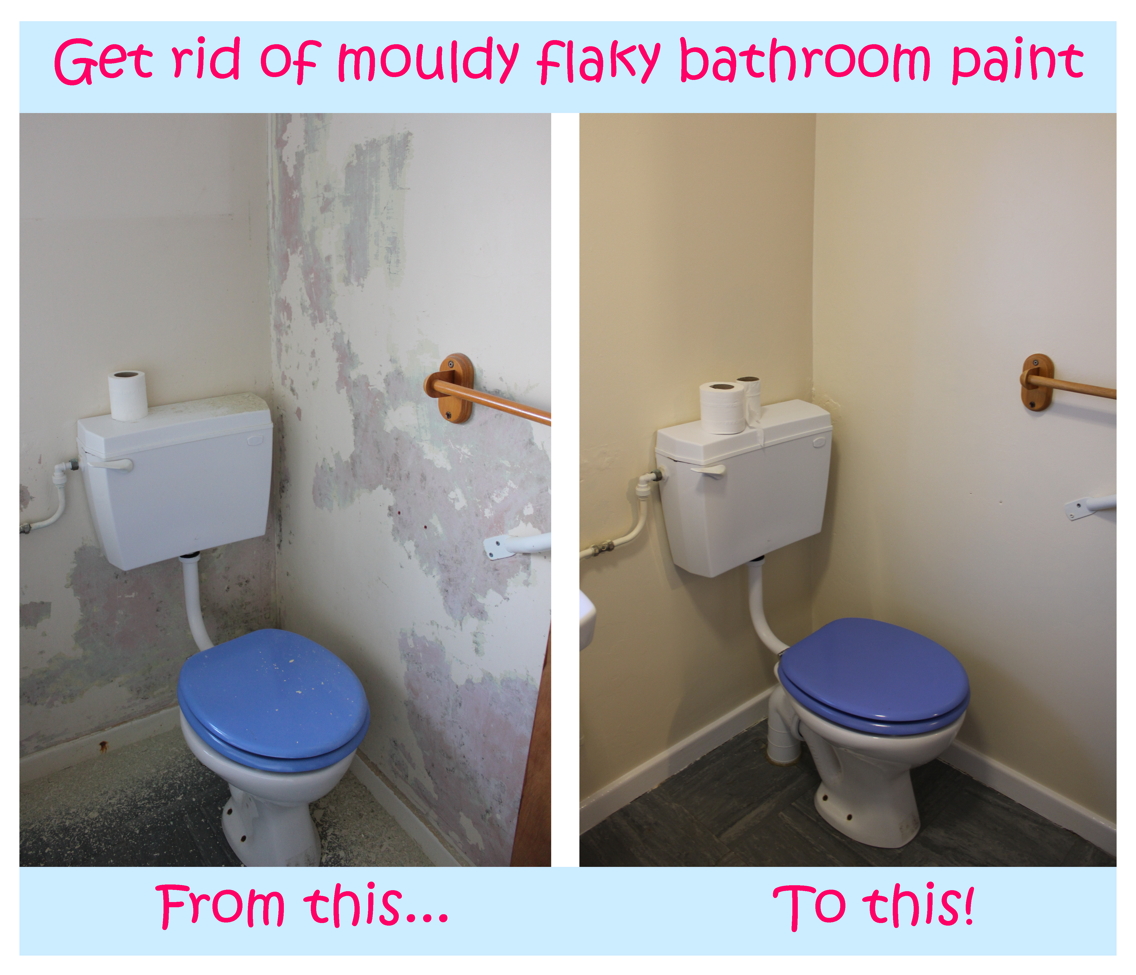 What Kind Of Paint Do I Use In A Bathroom: Say Goodbye To Mouldy Paint & My Other Favourite Life