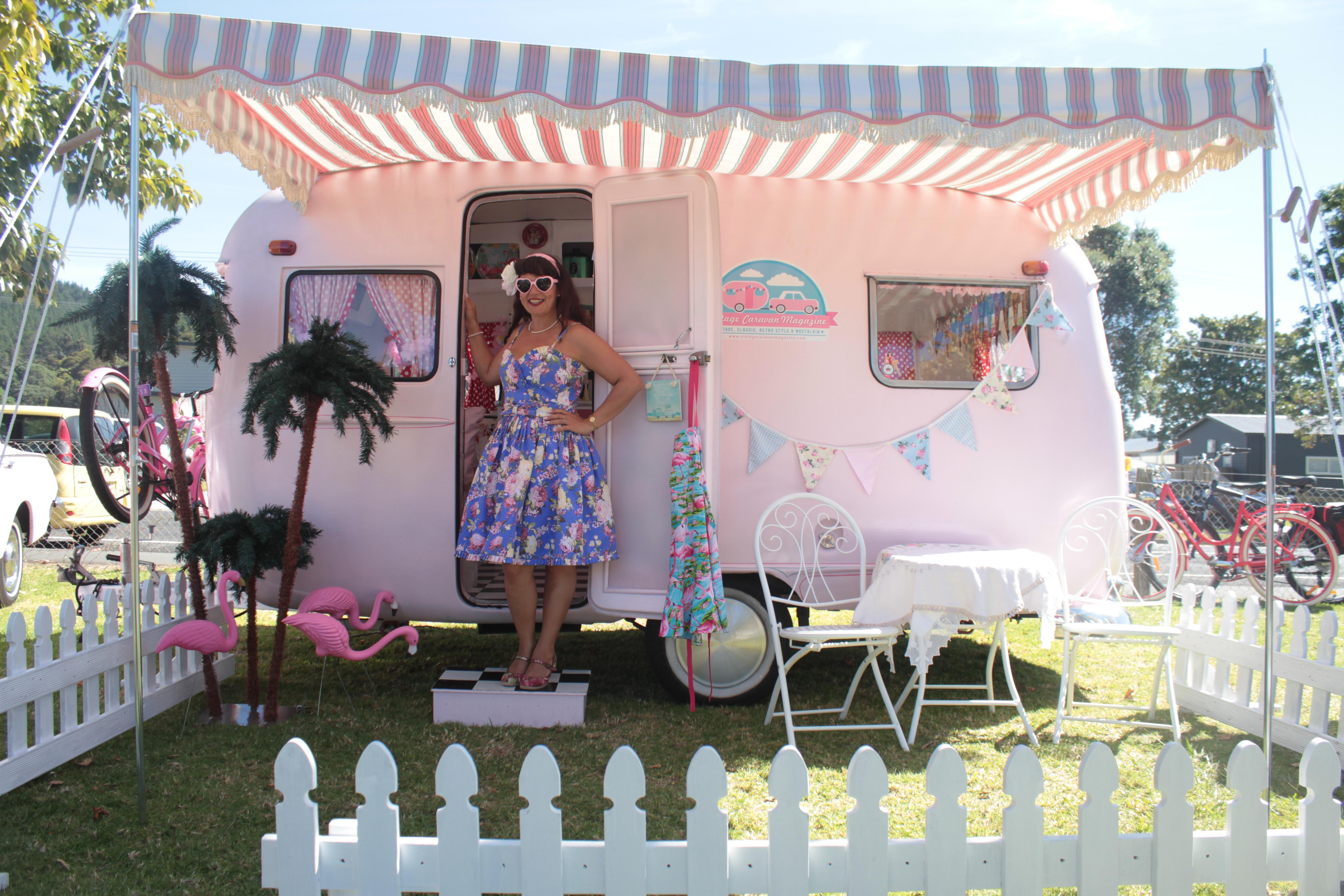 An inspirational interview with 'Vintage Caravan Style' author Lisa