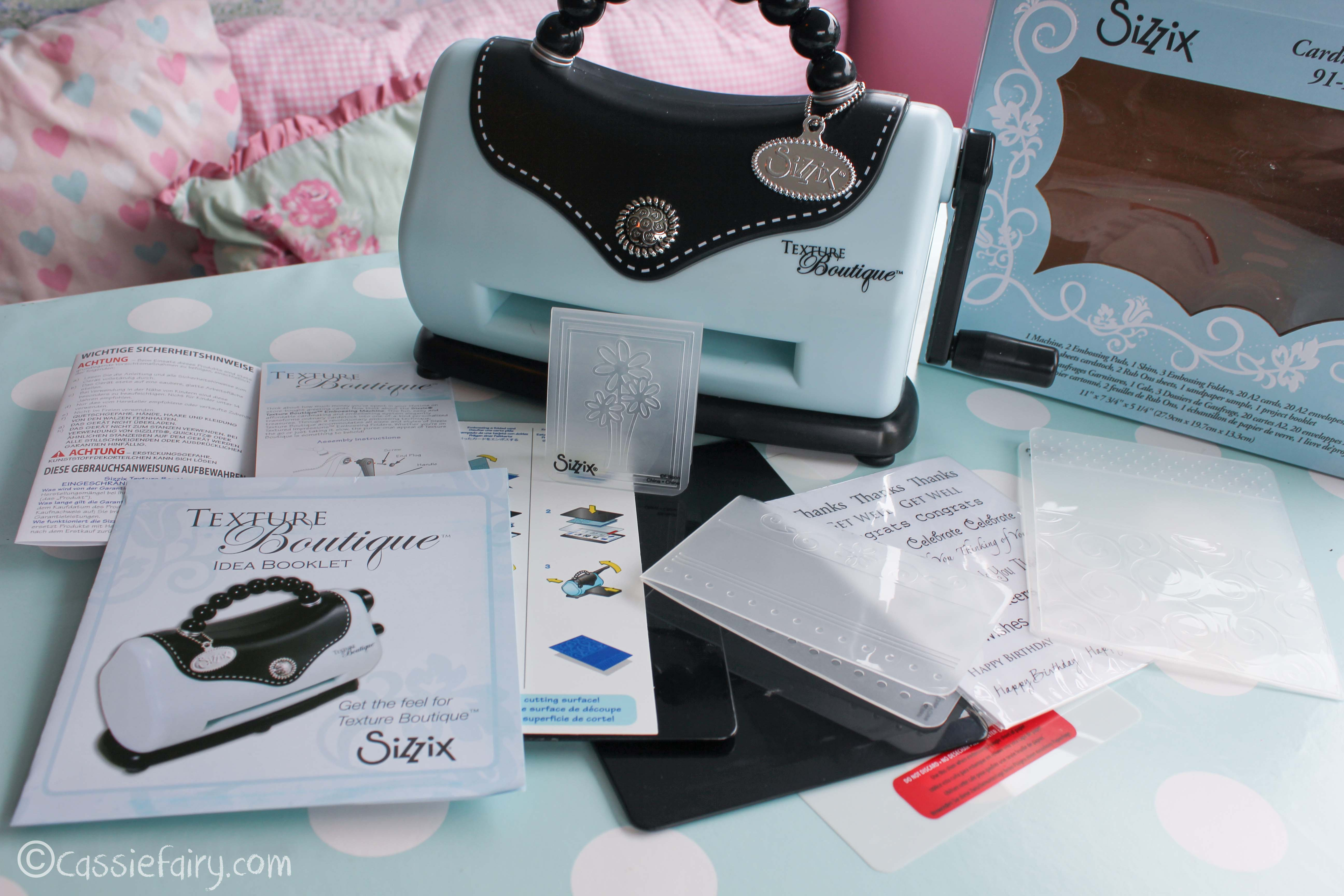 Exceptional Sizzix Card Making Ideas Part - 2: Cassiefairy