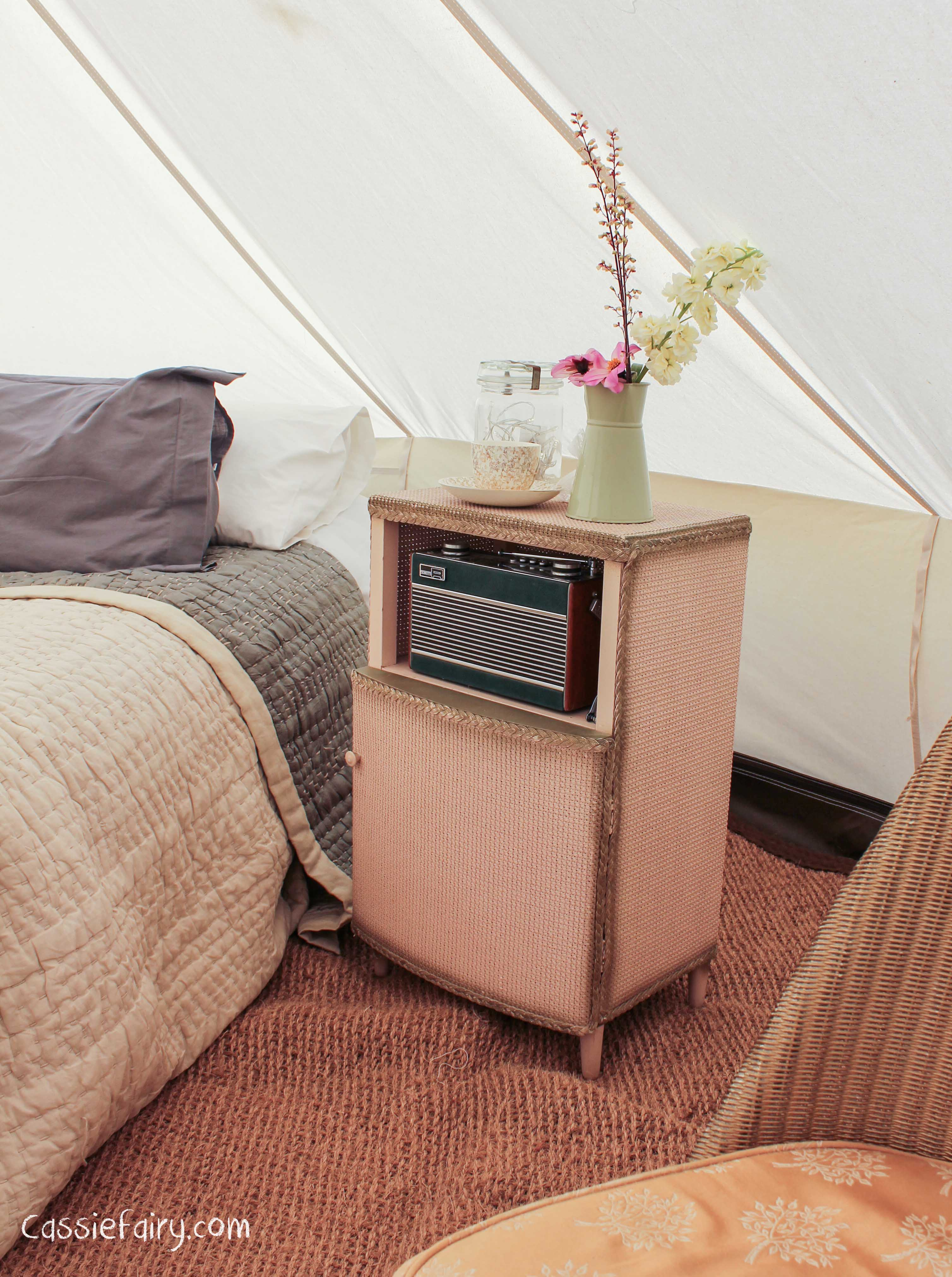 Glamping festival ideas bell tents 4 for Glamping ideas diy