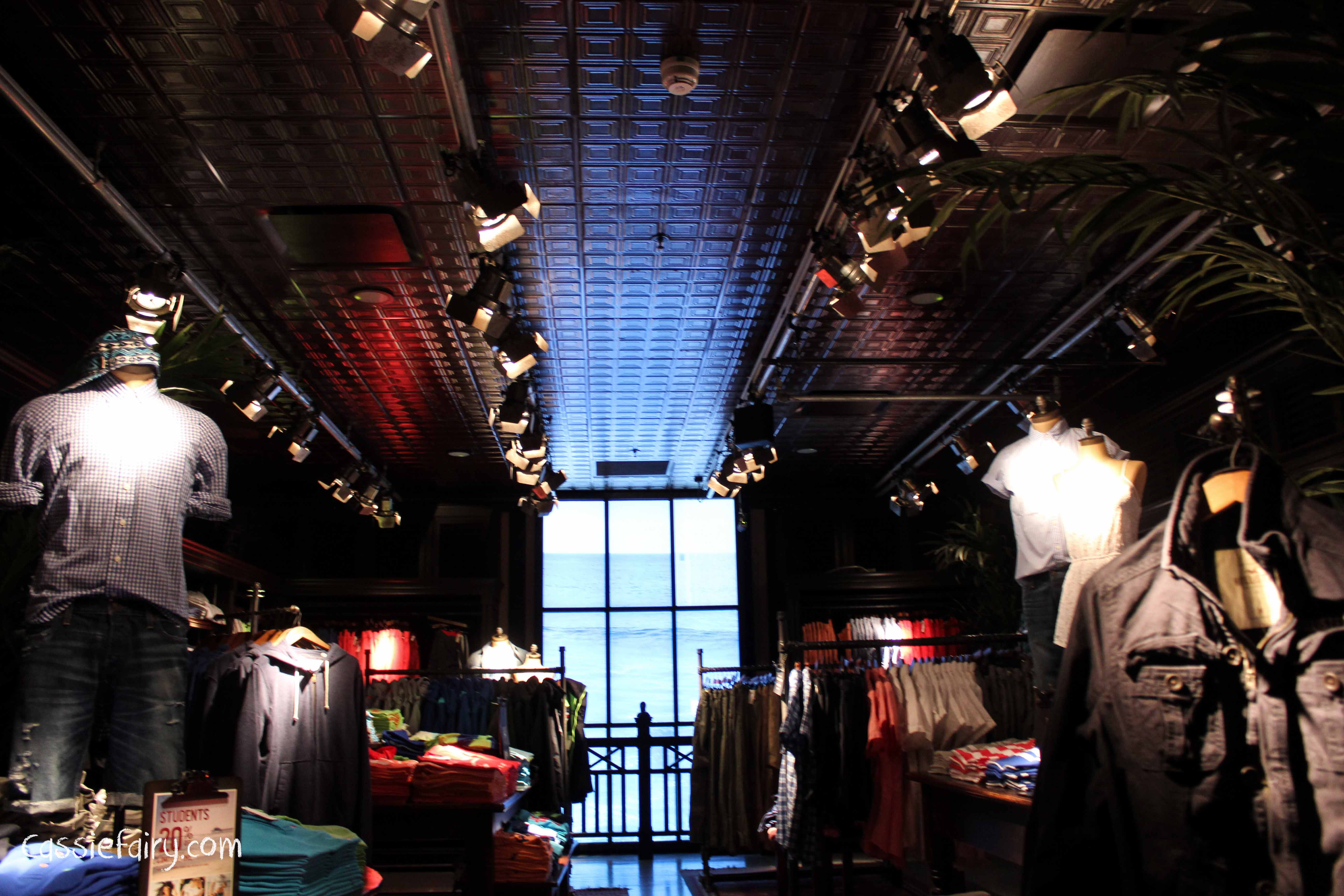 Getting interior design inspiration from hollister store Hollister design