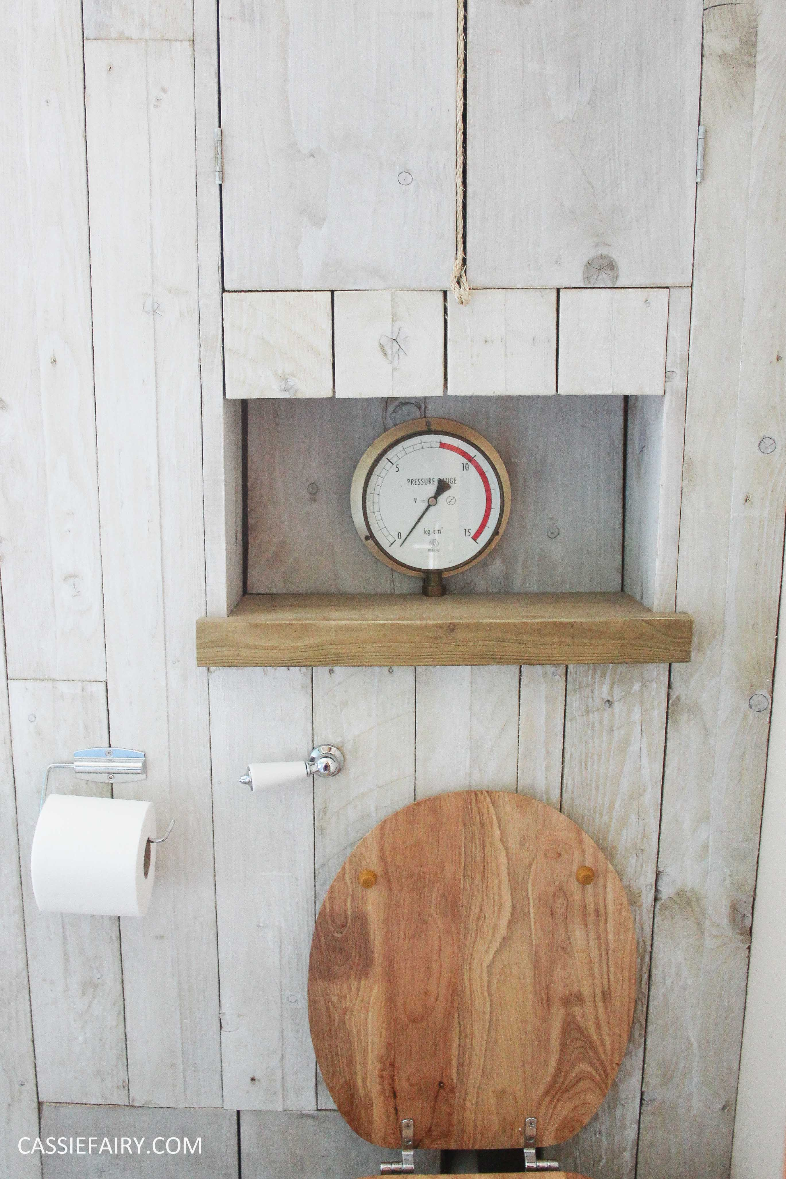 Thrifty Diy Bathroom Renovation A Beach Hut Inspired