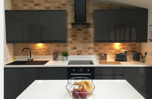 How To Create A Loft Vibe On A Budget With Brick Feature Walls