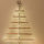 How to DIY a space-saving Christmas tree with copper pipe & pallet wood