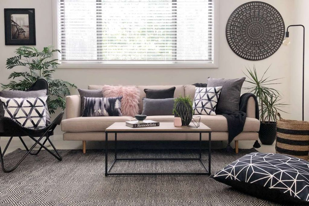 Take One Neutral Sofa - How To Style Your Living Room 6 Different Ways