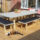 Thrifty DIY: How to upcycle scaffolding boards into a garden table