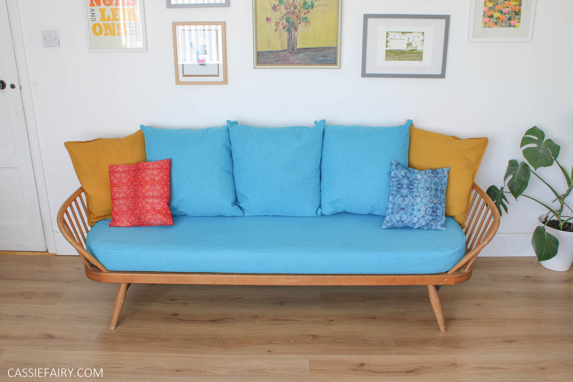 How To Sew New Sofa Covers And Cushions