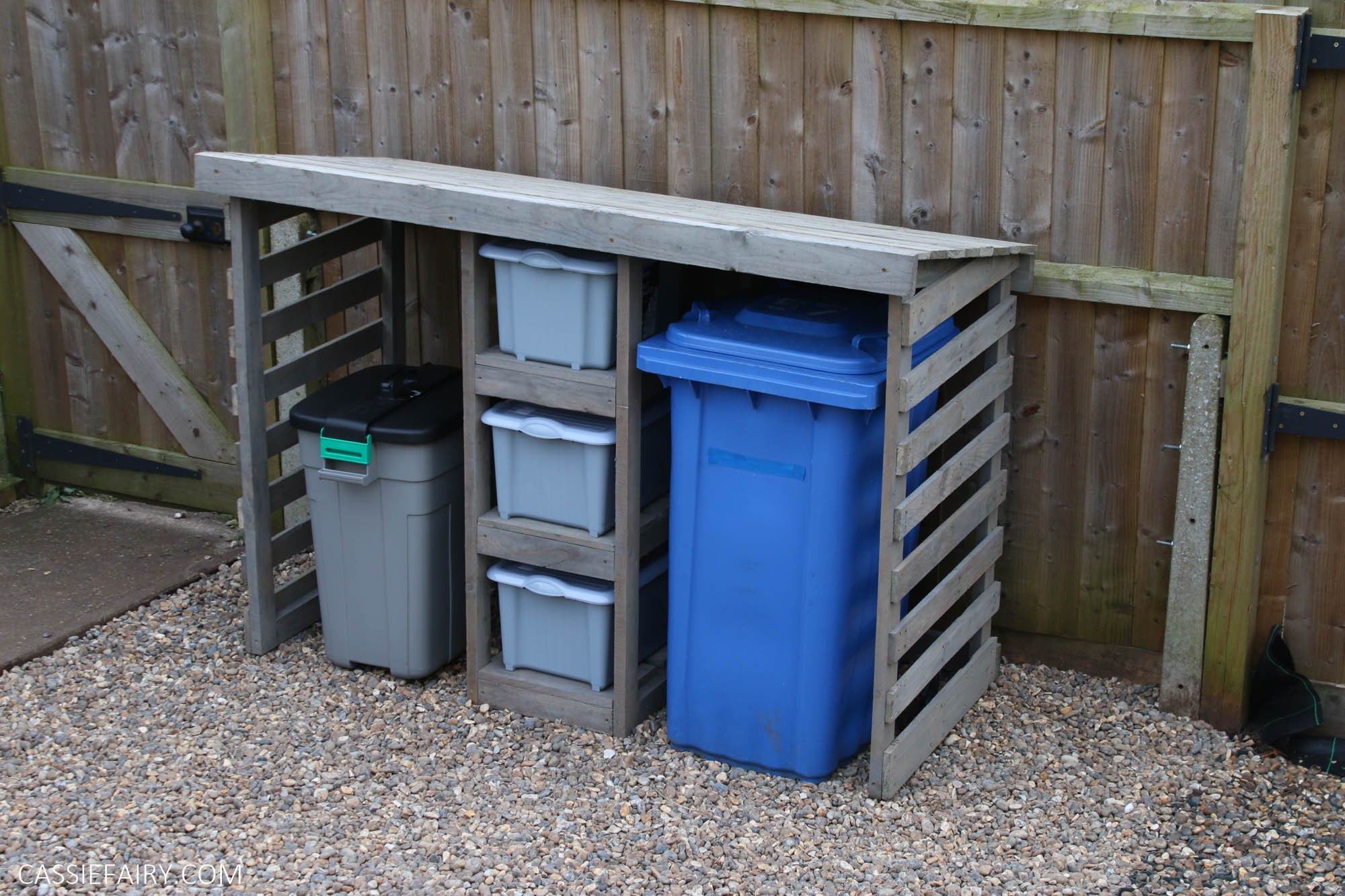 How To Diy A Bin Store Using Leftover Timber